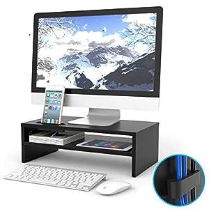 Schreibtisch Erhöhung Für Bildschirm Günstig Online Kaufen Dein