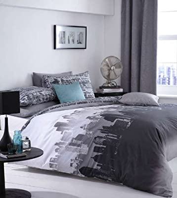 Catherine Lansfield CityScape - cheap UK bedding store.