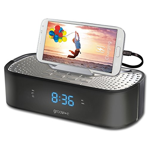 groov-e-time-curve-alarm-clock-radio-with-usb-charging-station-black