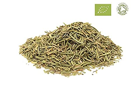 Organic Rosemary Soil Association Certified FREE P&P (100g Organic Rosemary)