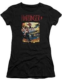 Harbinger - Frauen-Weinlese-T-Shirt
