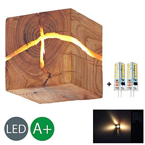 HOIHO Madera Crack Split madera Lámparas pared original