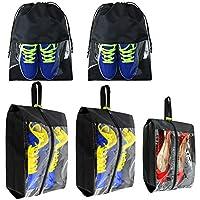 "BeeGreen unisex-adult SB01-01 Travel Shoe Bags 9""L x 5.1""W x 12.8""H, 16.5""H x 13.4""L"