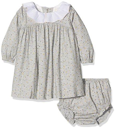 Gocco Baby  (0-24 Monate) Mädchen Kleidung Set grau Grau (Grau Claro) 86 cm (Ninas Vestido De)