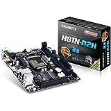 Gigabyte GA-H81N-D2H Mainboard Sockel 1150 (Mini ITX, Intel H81, 2x DDR3 DIMM Speicher, 2x USB 3.0/2.0)
