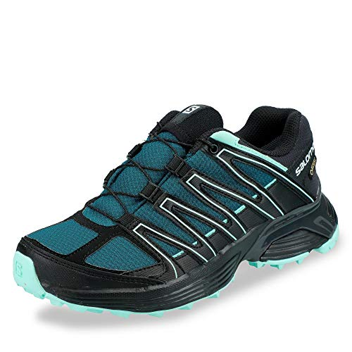 SALOMON L40743500 XT Asama Damen Gore-TEX® Outdoorschuh Mesh Ortho-Lite-Sohle, Groesse 41 1/3, blau/schwarz