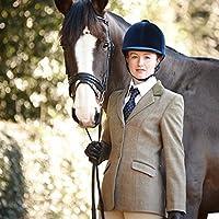 Dublín Wolverton infantil chaqueta de Tweed–oliva