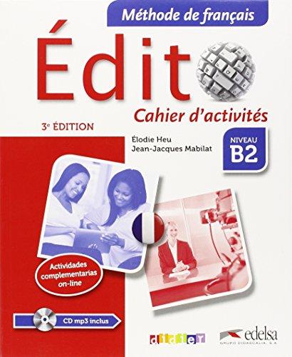 Edito B2 Cahier (+cd)