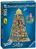 Ravensburger - 16098 - Puzzle Phare Merveilleux Thompson 995 Pièces Silhouette
