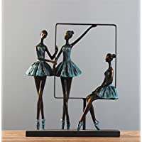 PLYY Harz Handwerk Geschenk Ornamente Ballett Mädchen Hochzeit Geschenk  Kreative Wohnzimmer Schränke Dekoration Ornamente