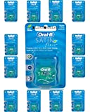 Oral B Satin Floss Mint 25m x 12 Packs by Procter & Gamble