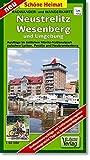 Radwander- und Wanderkarte Neustrelitz, Wesenberg und Umgebung: Ausflüge im östlichen Müritz-Nationalpark zwischen Lychen, Penzlin und Neubrandenburg. Maßstab 1:50 000 (Schöne Heimat) - Verlag Dr. Barthel