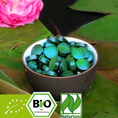 Bio Spirulina Tabletten - Naturland zertifiziert 500g zu je 250mg