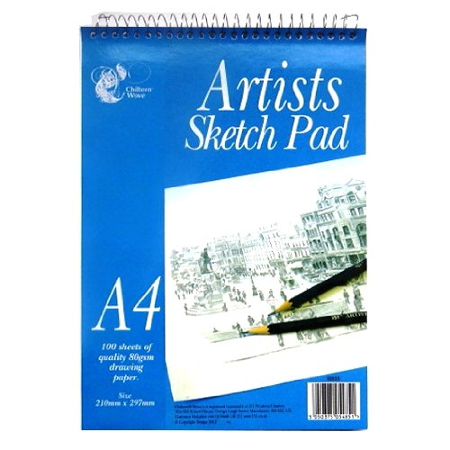 artists-a4-sketch-pad-wiro-bound-100-sheets-297mm-x-210mm