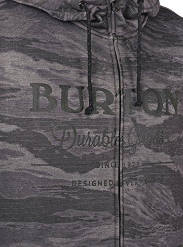 Burton Herren Oak Full-Zip Hoodie faded worn tiger