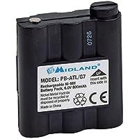 Midland G7 Akku - Batería de radiocomunicación para G7, G9, Atlantic (800 Ni-mh)
