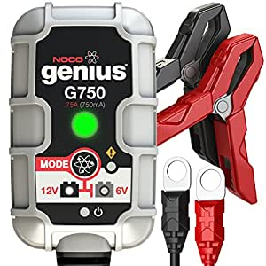 NOCO Genius G750 6V/12V 750mA Amp Smart Battery Charger and Maintainer