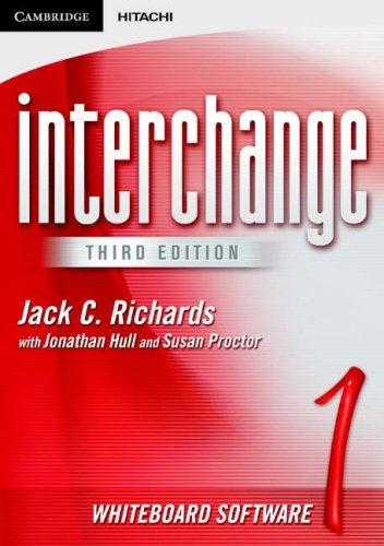 Interchange Whiteboard Software 1 (Interchange Third Edition) Hitachi Vhs