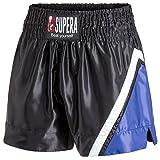 Supera Muay Thai Short Performance. Thaiboxhose für Training und Wettkampf. Kickboxhose - Thai Hose mit elastischem Bund. Perfekte Passform für MMA, BJJ, Kickboxen, Thaiboxen und Grappling!