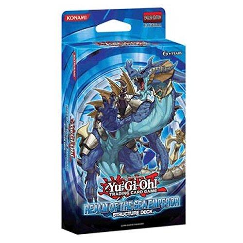 Yu-Gi-Oh Realm Of The Sea Emperor - Juego de rol, 1 jugador (Konami KON248058) (versión en inglés)