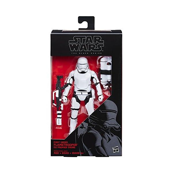 Star Wars The Black Series - Figura de flametrooper de Primera Orden de 6 Pulgadas 2