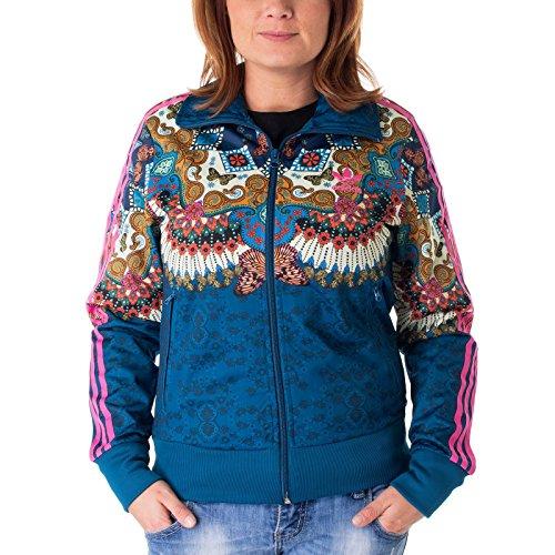 adidas Borbomix Firebird Track Top Jacke Damen 38 - S/M (Firebird Originals Adidas)