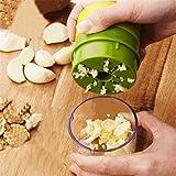 gaddrt Multifunktions-Knoblauch Cutter Küche Knoblauch Master perfekt Hackfleisch Knoblauch in Sekunden Kopf im Kreis Knoblauch