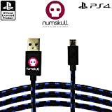 Official Sony PlayStation 4m gold plated charging cable for PS4 & Xbox One controllers. Play and Charge simultaneously