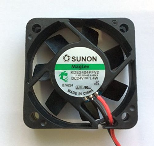 Sunon Lüfter 40x40x10mm KDE2404PFV2-11AB DC 24V 5800 U/min 27dBA Vapolager 2 Litzen Lüfter 24v 40 X 40 X 10mm