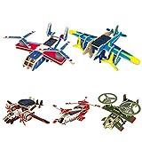 Balai Solar Baukasten DIY Puzzle Montage Spielzeug Solarflugzeug von Balai