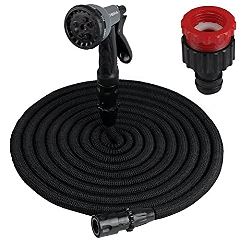 Newest Polyester Fabric Magic Expanding Garden Hose Reel Quick Connect with 8 Sprayer 75ft