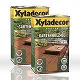 2 x Xyladecor Gartenholz-Öl Natur natur dunkel Holzöl 2,5l (5 Liter)