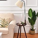 HU HAO UK Stehlampe- Massivholz Stehlampe Wohnzimmer Nachttischlampe Nordic Stehleuchte Vertikale Regale Couchtisch Lichter (Farbe : E)