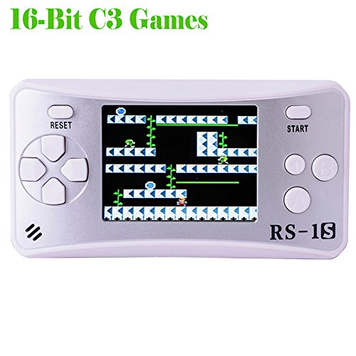 Kids Retro Handheld Game Console with Built in 168 Classic 80