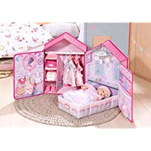 Baby Annabell Bedroom, Nursery, House and Wardrobe all in one Piece