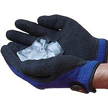 Easy Off Gloves Guantes de invierno para hielo - Resistencia a temperaturas extremas por debajo de