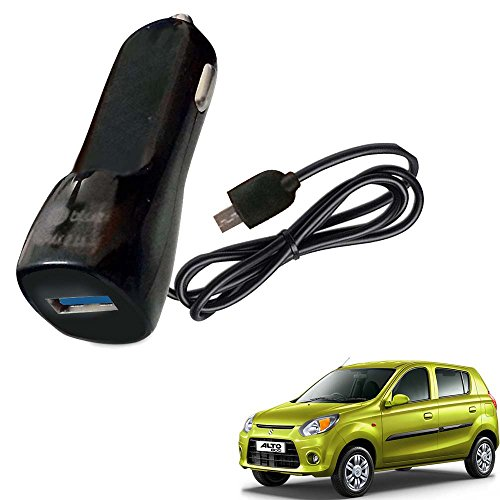 Vheelocityin Bluei 6 Month Warranty Car USB Charger Fast Charging USB Charger For Maruti Suzuki Alto 800
