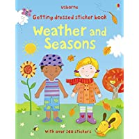 Getting Dressed Sticker Book Weather and Seasons (Getting Dressed Sticker Books)
