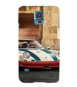 EPICCASE S&J car Mobile Back Case Cover For Samsung Galaxy S5 (Designer Case)