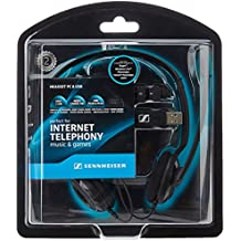 Sennheiser PC 8 USB - Auriculares de diadema abiertos USB (Con micrófono), negro