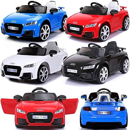 BPD Audi TT Kinder Elektroauto elektrisches Kinderauto 12V mit MP3-Player Licht 2 Motoren