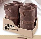 BETA 2001E4/B20-80° Rolltasche Vintage Leder mit 20 braunen Werkzeugen