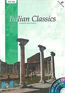 Italian Classics Es - Alto Saxophone, Bariton Saxophone, Eb Horn and Piano - BOOK+CD