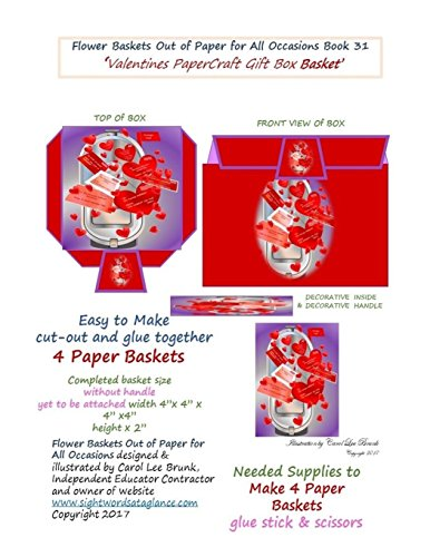 f Paper for All Occasions Book 31: Valentines Paper Craft Gift Box ()