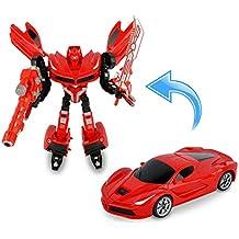 37749 Power robot transformable en coche con armas en dos colores