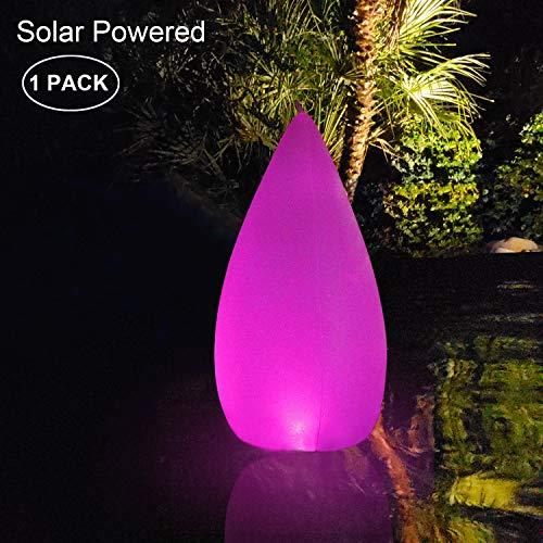 LED Solarlichter, Becher LED Solar LED Solar Licht Schwimmende Pool Lichter Wasserdichte,Farbwechsel LED Nachtlicht Party Decor für Gar (1 PACK)