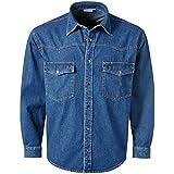 Pionier 922-XXL Jeans-Hemd Denim Größe XXL in blau
