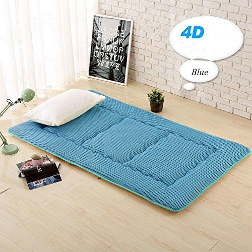 HYXL Zusammenklappbare Tatami-matten Floor Mat Sitzkissen,Sommer Atmungsaktives Kissen matratze Student mehrbett Schlafzimmer Faltbare isomatte Bett-Protector-A 120x200cm(47x79inch)