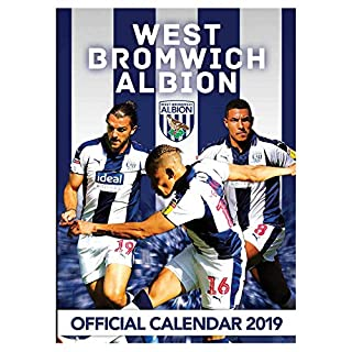 Official West Bromwich Albion 2019 Calendar (A3)