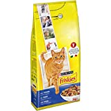 Friskies Adult CROCCHETTE for the Cat with Tuna and Vegetables Additions, 2kg